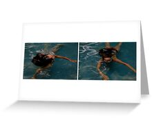 Cool in the Pool Greeting Card