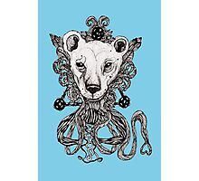 Lion Deco  Photographic Print