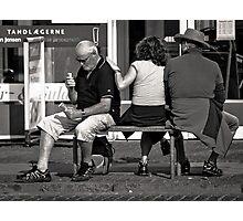 Easy on the Ice-Cream, Mate Photographic Print