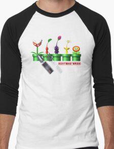 Nintend'Gro Gardening,  Men's Baseball ¾ T-Shirt