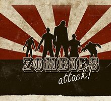 Zombie Attack ! by oasisak