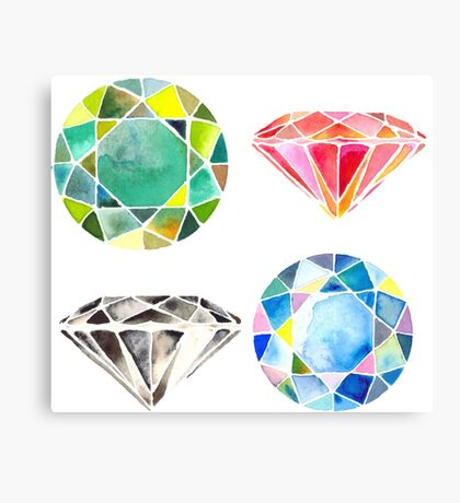 Diamonds, Diamonds, Diamonds Canvas Print