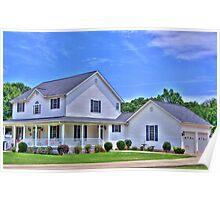 House in Pendleton SC Poster