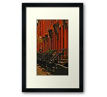 Brooklyn Heights Framed Print