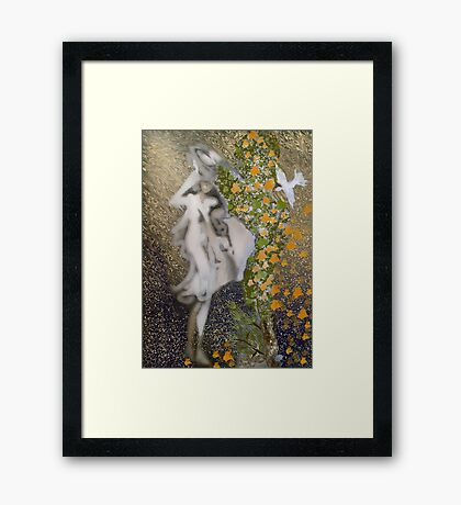Еarly fall of the leaf Framed Print