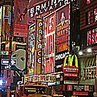 Time Square by ekmarinelli
