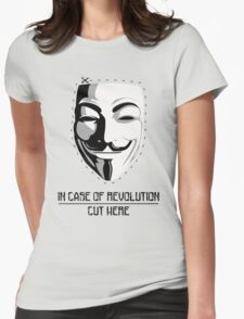 In Case of Revolution Womens Fitted T-Shirt