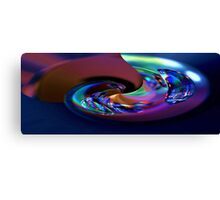 Water Abstract with Texture Canvas Print