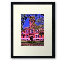 Elk County Courthouse Framed Print