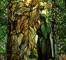 The Annunciation. by Lee d'Entremont