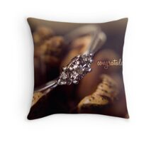 Engagement #1 Throw Pillow
