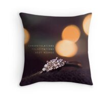 Engagement #2 Throw Pillow