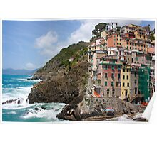 Riomaggiore, Italy Poster