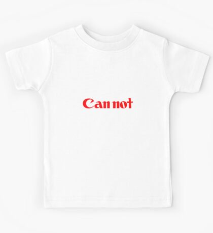Cannot Kids Tee