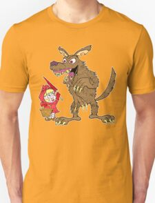 Red Riding Hood and Wolf T-Shirt