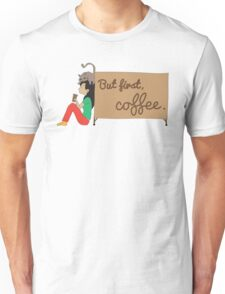 Coffee Sign Unisex T-Shirt