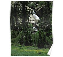 Willow Creek Cascades Poster