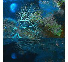 Blue Moon - Native Presence Photographic Print