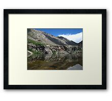 Willow Creek Lake Reflections Framed Print