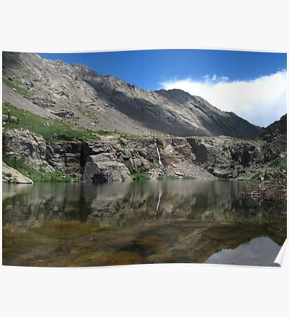 Willow Creek Lake Reflections Poster