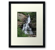 Willow Creek Falls Framed Print