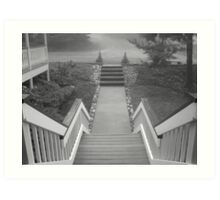 Staircase Pathway Art Print