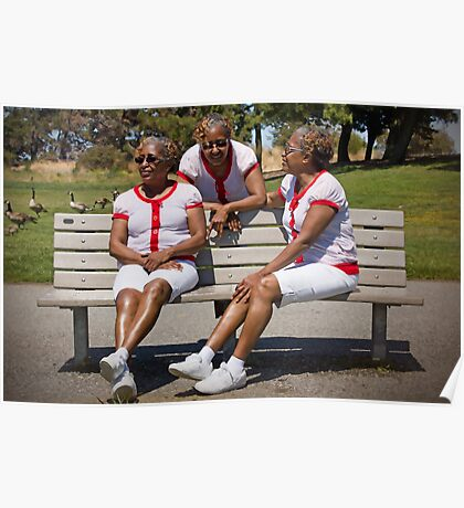 woman in multiplicity photography X3 Poster