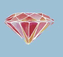 Pink Diamond One Piece - Short Sleeve