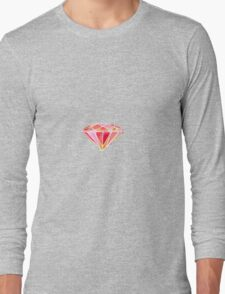 Pink Diamond Long Sleeve T-Shirt