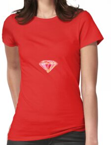 Pink Diamond Womens Fitted T-Shirt