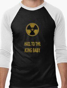 Duke Nukem - Hail To The King Baby! Men's Baseball ¾ T-Shirt