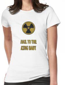 Duke Nukem - Hail To The King Baby! Womens Fitted T-Shirt