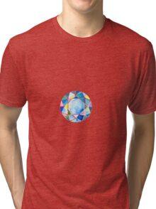 Blue diamond Tri-blend T-Shirt