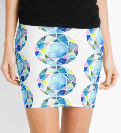 Blue diamond Mini Skirt