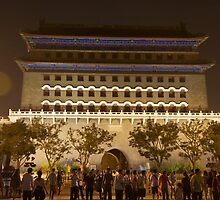 Front Gate Tiananmen Square by Ian Johnston