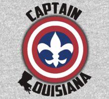 Captain Louisiana - Fleur de Lis Kids Tee