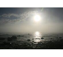 Unusual sky, Hallett Cove,S.A. Photographic Print
