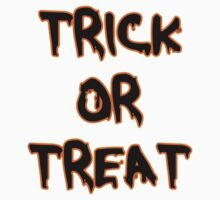 Trick or Treat One Piece - Short Sleeve