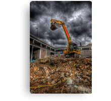Scraper King Canvas Print