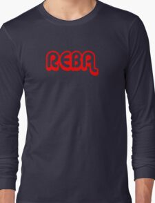 Reba (red) Long Sleeve T-Shirt