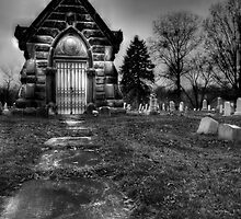 Midnight at the Mausoleum  by Marcia Rubin