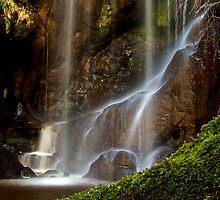 Routing Linn Waterfall Northumberland by Darren Turner
