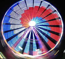 Spinning Faris Wheel by Scott Loucks