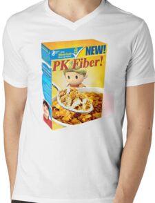 PK Fiber T-shirt (UNOFFICIAL) Mens V-Neck T-Shirt