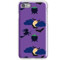 Witch and moon iPhone Case/Skin