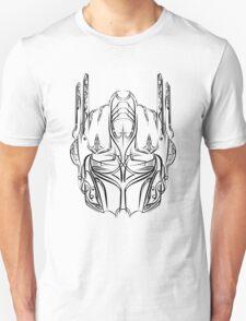 Pinstripe Prime (black version) Unisex T-Shirt
