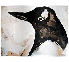 standard bright penguin  Poster