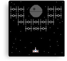Galaga Wars - A New Hope Canvas Print