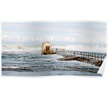 Ocean Baths Poster