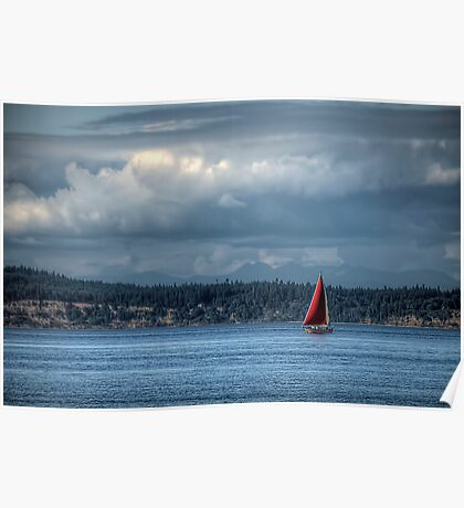 The Red Sail Poster
